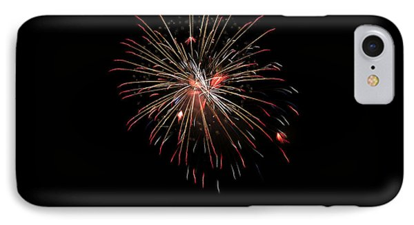 Fireworks 1 IPhone Case by Marilyn Hunt