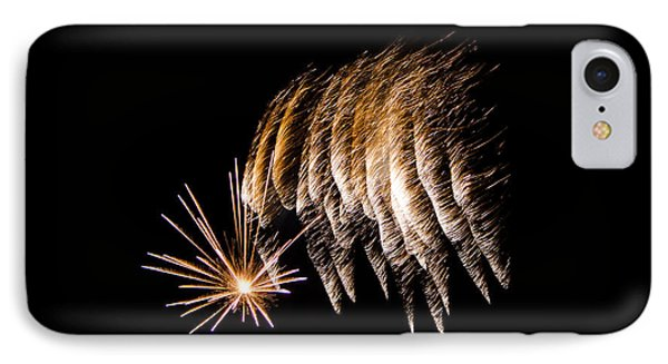 IPhone Case featuring the photograph Fireworks 1 by Susan  McMenamin