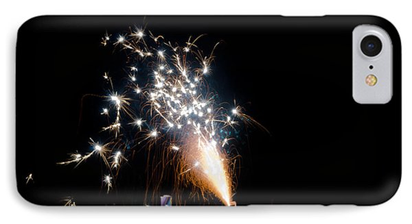 Fireworks 10 IPhone Case by Cassie Marie Photography