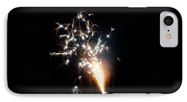 Fireworks 11 IPhone Case by Cassie Marie Photography