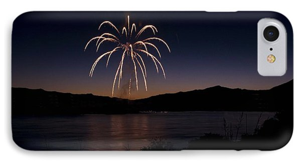 IPhone Case featuring the photograph Fireworks 11 by Sonya Lang