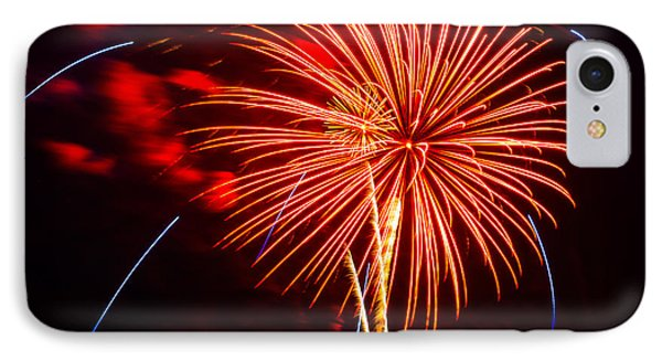 Fireworks 13 IPhone Case by Paul Freidlund