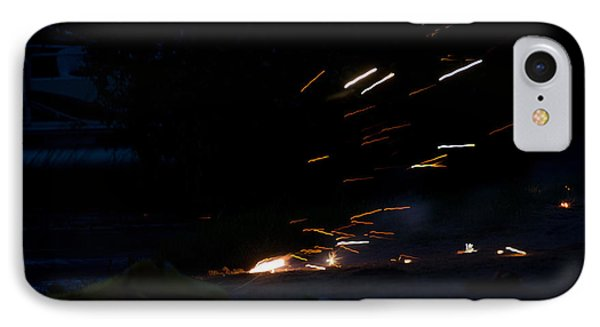 Fireworks 2 IPhone Case by Cassie Marie Photography