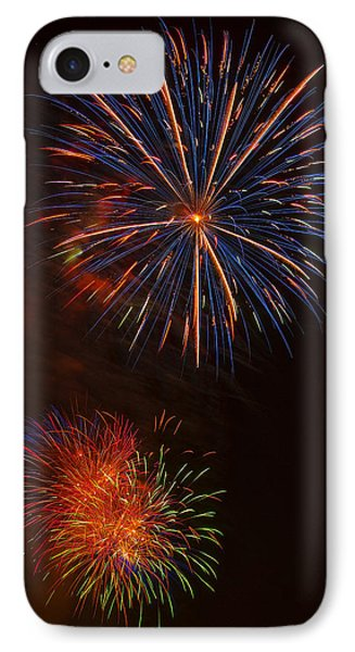 Fireworks 2 IPhone Case by Chris Flees