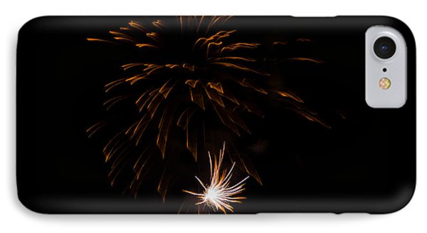 IPhone Case featuring the photograph Fireworks 2 by Susan  McMenamin