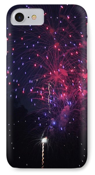 Fireworks 2014 Vi IPhone Case by Suzanne Gaff