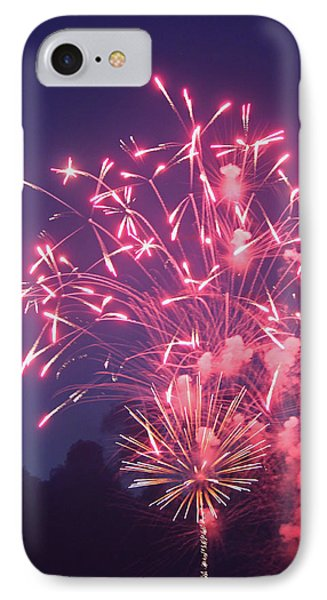 Fireworks 2014 X IPhone Case by Suzanne Gaff