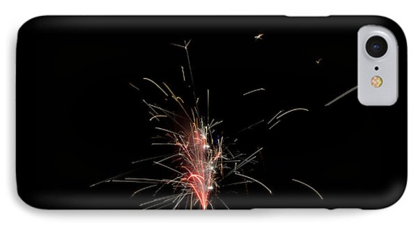 Fireworks 23 IPhone Case by Cassie Marie Photography