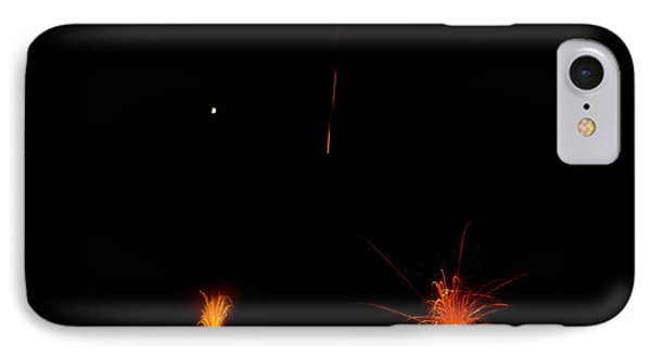 Fireworks 27 IPhone Case by Cassie Marie Photography