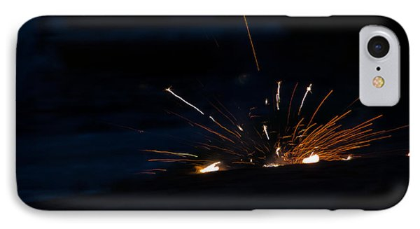 Fireworks 3 IPhone Case by Cassie Marie Photography
