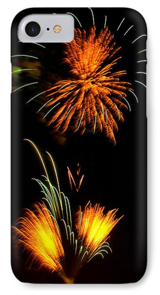 Fireworks 3 IPhone Case by Chris Flees