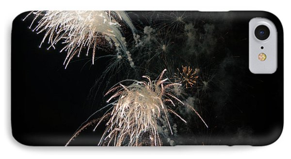 IPhone Case featuring the photograph Fireworks 3 by Susan  McMenamin