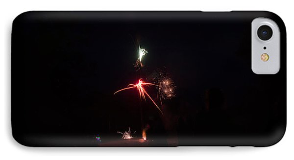 Fireworks 35 IPhone Case by Cassie Marie Photography