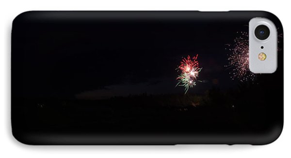 Fireworks 37 IPhone Case by Cassie Marie Photography