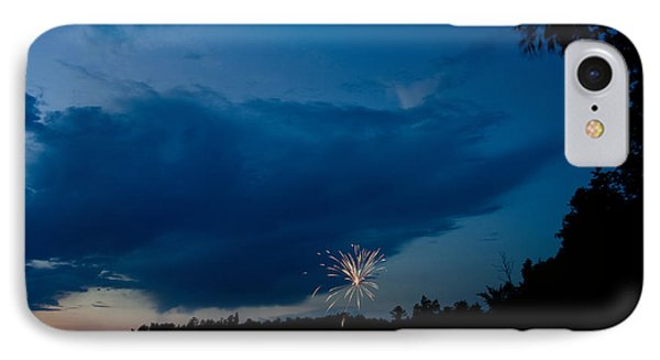 Fireworks 4 IPhone Case by Cassie Marie Photography