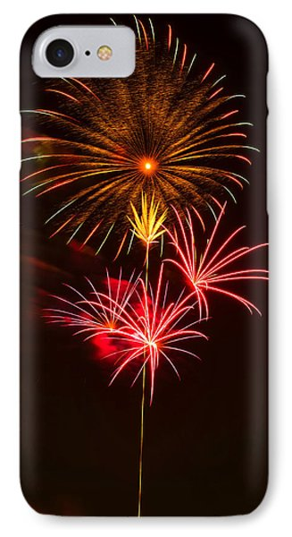 Fireworks 4 IPhone Case by Chris Flees