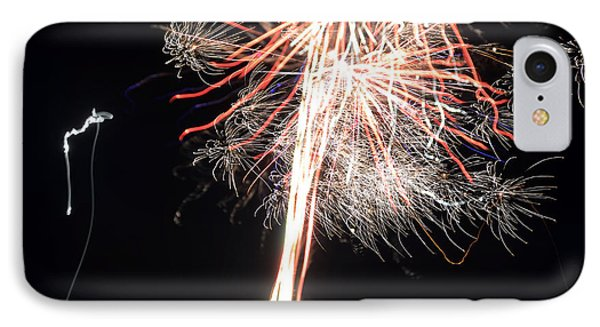 Fireworks 45 IPhone Case by Cassie Marie Photography