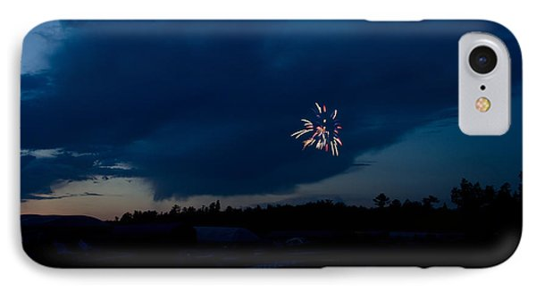 Fireworks 5 IPhone Case by Cassie Marie Photography