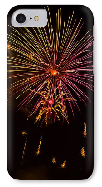 Fireworks 6 IPhone Case by Chris Flees