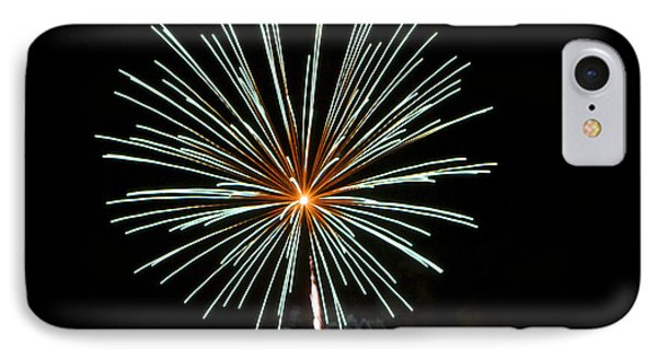 Fireworks Bursts Colors And Shapes 2 Phone Case by SC Heffner