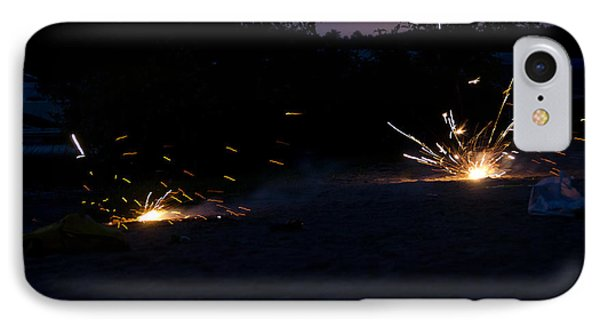Fireworks  IPhone Case by Cassie Marie Photography