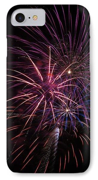 Fireworks Display  Astoria, Oregon IPhone Case