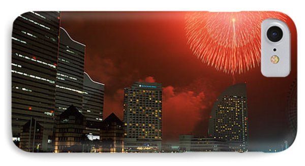 Fireworks Display In The Sky, Minato IPhone Case
