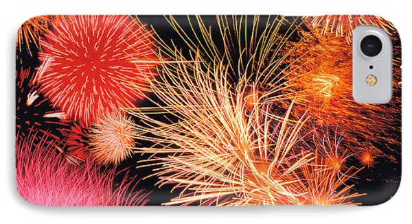 Fireworks Display IPhone Case by Panoramic Images