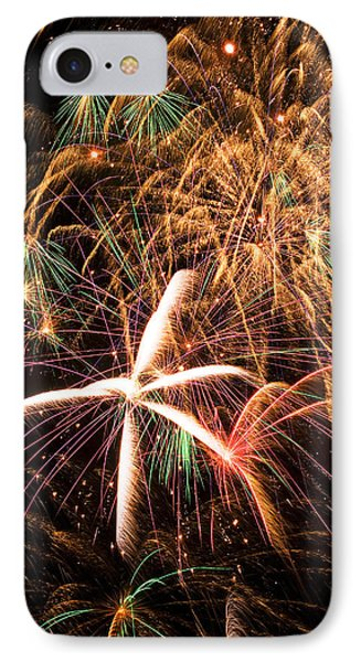 Fireworks Exploding Everywhere Phone Case by Garry Gay