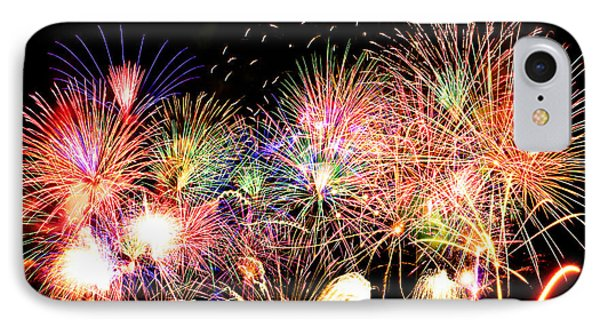 Fireworks Finale IPhone Case