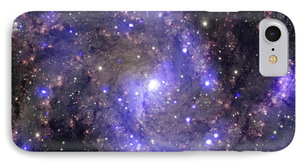 Fireworks Galaxy IPhone Case by Nasa