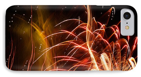 IPhone Case featuring the photograph Fireworks Finale  by Haleh Mahbod