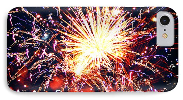IPhone Case featuring the photograph Fireworks by Kara  Stewart