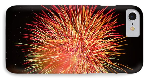 Fireworks  IPhone Case by Michael Porchik