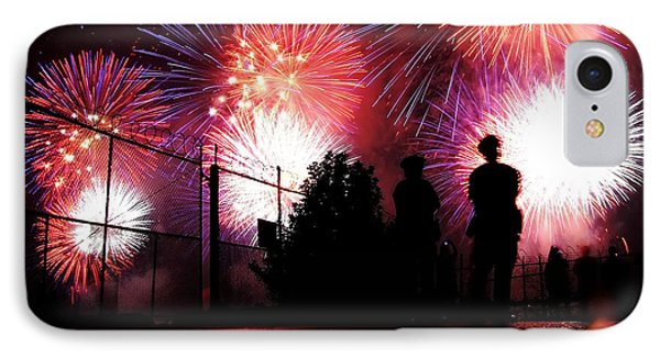 Fireworks IPhone Case by Nishanth Gopinathan