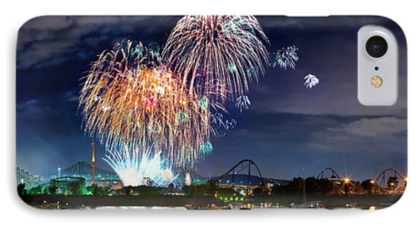 Fireworks Over Montreal IPhone Case
