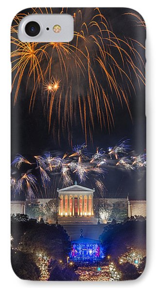 Fireworks Over The Parkway Phone Case by Bruce Neumann