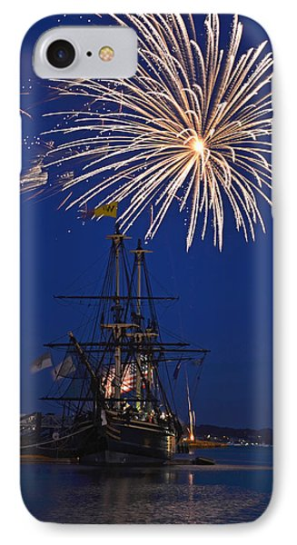 Fireworks Over The Salem Friendship IPhone Case by Toby McGuire