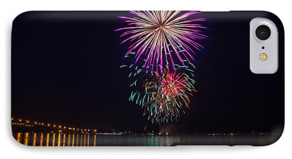 Fireworks Over The York River Phone Case by James Drake