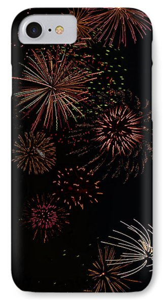 Fireworks - Phone Case Design IPhone Case by Gregory Scott