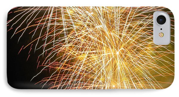 IPhone Case featuring the photograph Fireworks by Ramona Johnston