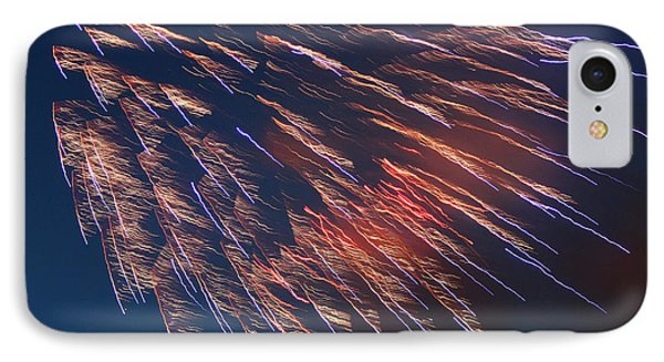 Fireworks Series I Phone Case by Suzanne Gaff