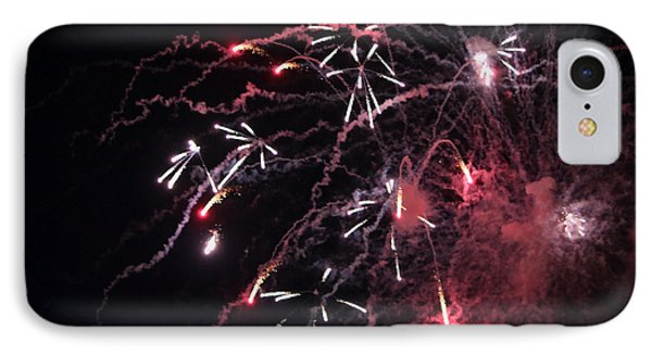 Fireworks Series Xi Phone Case by Suzanne Gaff