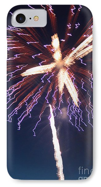 Fireworks Series Xii Phone Case by Suzanne Gaff