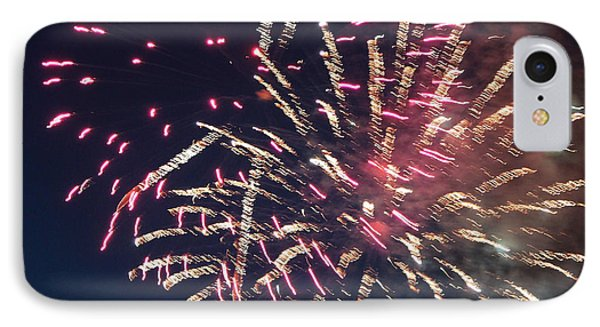 Fireworks Series Xiii Phone Case by Suzanne Gaff