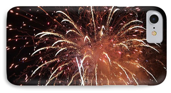 Fireworks Series Xv Phone Case by Suzanne Gaff