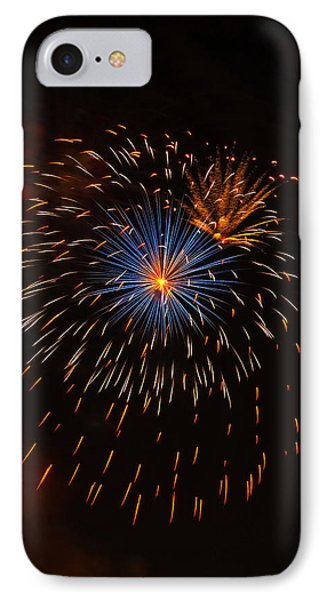 Fireworks1 IPhone Case by Chris Flees