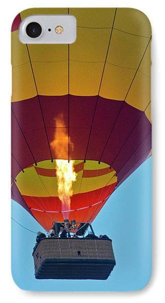 Firing Up, Taking Off, Ballooning IPhone Case by Michel Hersen