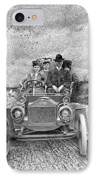 First Automobile In Concord IPhone Case