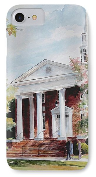 First Baptist Church Sold IPhone Case by Gloria Turner